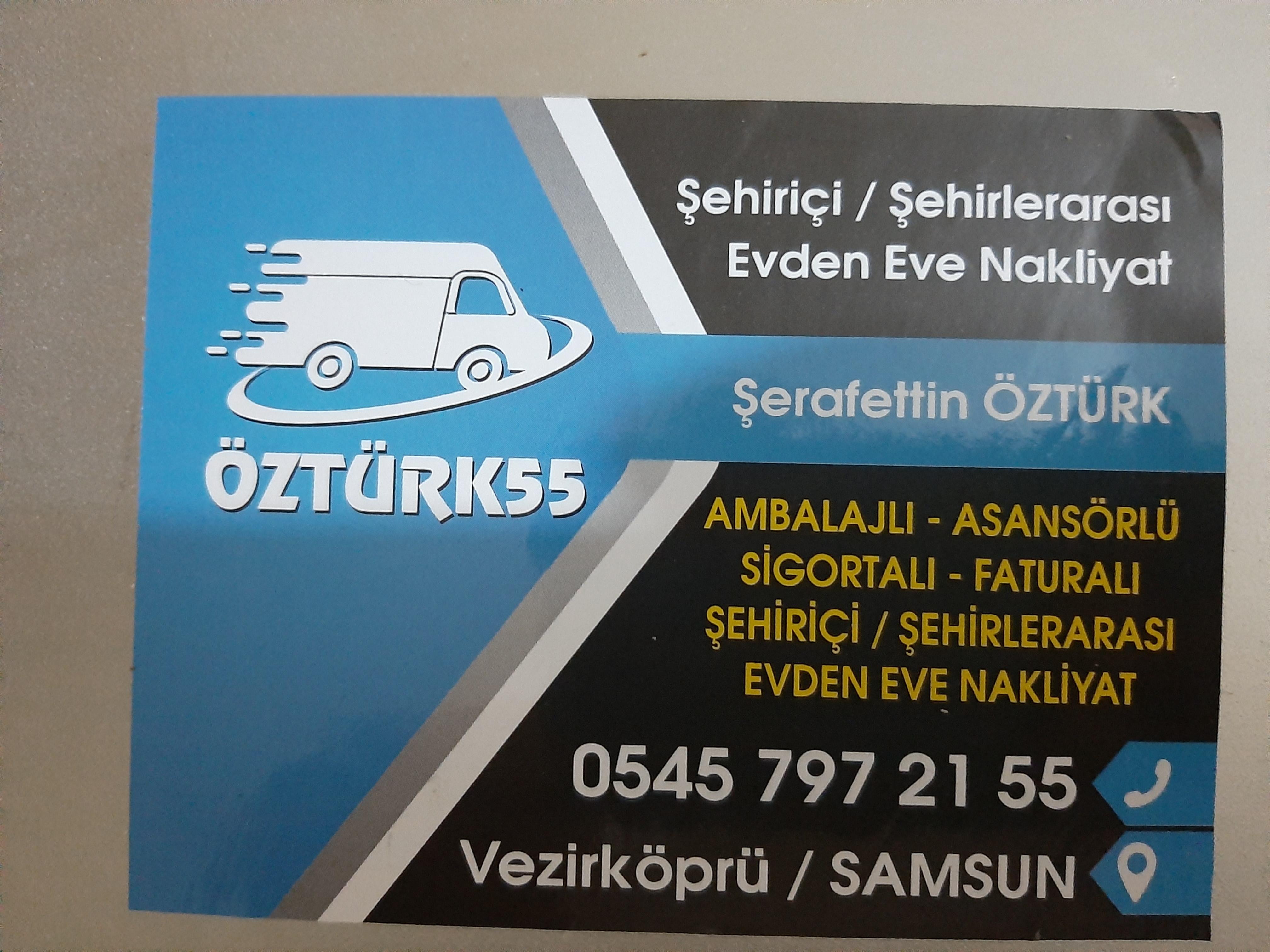 ÖZTÜRK 55EVDEN EVE NAKLİYAT  Evden eve nakliye firması