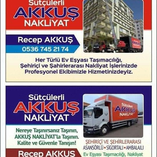 Isparta Akkuş Nakliyat Evden eve nakliye firması