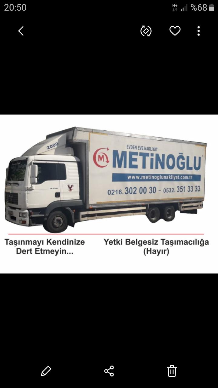 Metinoglu evden eve nakliyat  Evden eve nakliye firması